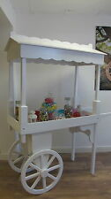 candy cart wedding sweet trolly school fete point of sale display promotional