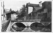 BR40870 Annecy pont morens et palais de l ile     France