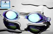 SPEEDO MARINER MIRROR SWIMMING GOGGLES BRAND NEW ADULT BLUE STUNNING