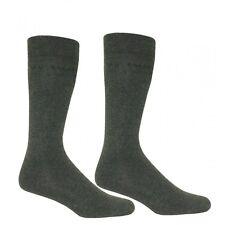 Ted Baker Plain 2-Pack Charcoal Socks