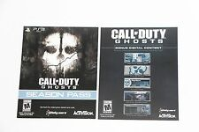 Playsation 3 CALL OF DUTY GHOSTS SEASON PASS + BONUS TEAM LEADER 5 MAPS AND MORE