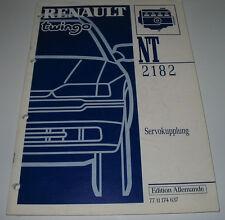 Werkstatthandbuch Renault Twingo I Servokupplung Servo Kupplung Stand 1994!