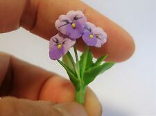 1:12 Scale Pansy Flowers (LP)