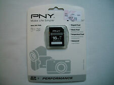 PNY Performance 16 GB SDHC Class 4 Memory Card