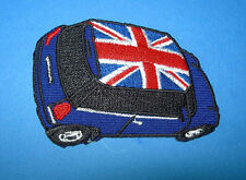 ` MINI UNION JACK NAVY`SEW OR IRON ON PATCH