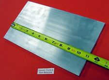 "3/8"" X 6"" ALUMINUM 6061 FLAT BAR 11"" long .375"" Plate Mill Stock T6511"