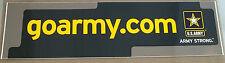"US Army Decal / Bumper Sticker  goarmy.com "" Army Strong """