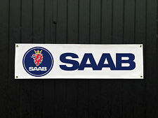 SAAB Car Banner for Garage / Shop / Promotional Item, Custom Banners!