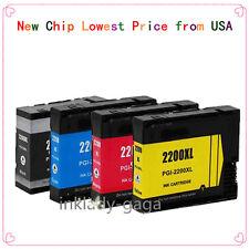 4 PK PGI-2200XL Compatible Ink Cartridges For Canon MAXIFY IB4020 MB5020 MB5320