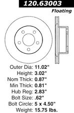 Centric Parts 126.63003SL Front Performance Brake Rotor