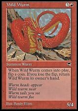 Wild Wurm  EX/NM     Tempest MTG Magic Cards Red
