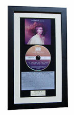 RAE MORRIS Unguarded CLASSIC CD Album GALLERY QUALITY FRAMED+EXPRESS GLOBAL SHIP