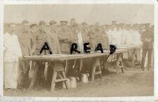WW1 Claude Hopton & regimiento Cooks South Notts Húsares SNH en anual campamento