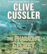 THE PHARAOH'S SECRET unabridged audio book on CD by CLIVE CUSSLER