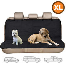 Dog Seat Cover Waterproof Bench Protector Pet Hammock for Van SUV Washable XL