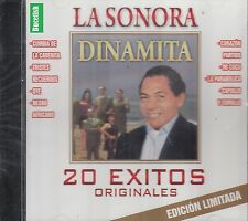 La Sonora Dinamita 20 Exitos Originales Edicion Limitada CD New