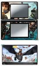 VINYL SKIN STICKER FOR NINTENDO DS LITE REF 43 HOW TO TRAIN YOUR DRAGON