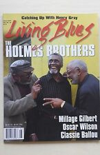 LIVING BLUES Magazine #237 (2015) HOLMES BROTHERS Classie Ballou Millage Gilbert