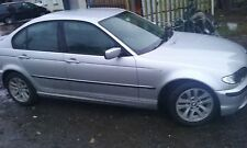BMW 316i E46 SALOON 2005 BREAKING N46 ENGINE N/S/FRONT ALL PARTS O/S/REAR SILVER
