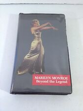 """Marilyn Monroe VHS TAPE  Beyond The Legend"" 60 mins.1986 color Documentary"