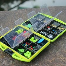 Assorted Tackle Saltwater Utility Box Jig Swivels Hooks Fishing Accessories