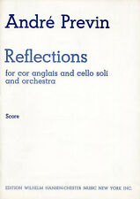 Andre Previn Reflections Full Score Learn to Play Cor Anglais Cello Music Book