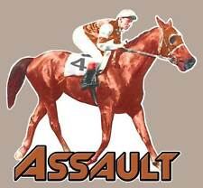 Assault Full Color  Decal   Triple Crown winner