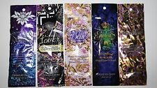 LOT 5 Sample Packets Designer Skin Spellbound Label Lover Belle Envious Provoked
