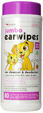 Cleaning Products Supplies Health Supplies Jumbo Ear Care Wipes for dog or cat