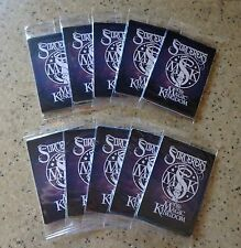 10 Unopened Packs Disney Sorcerers of the Magic Kingdom Spell Cards (50 cards)