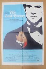 THE LAST TYCOON '76 Original OS Movie Poster ROBERT De NIRO, JACK NICHOLSON