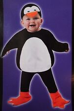 BOYS GIRLS 2T 3T PENGUIN VEST HALLOWEEN COSTUME ANIMAL ZOO INFANT