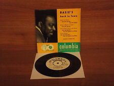 Count Basie : Basie's Back In Town : 4 Track EP : Columbia : SEB 10070