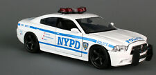 "Daron NYPD Dodge Charger Police patrol Car 1:24 scale 8.5""  diecast model D13"