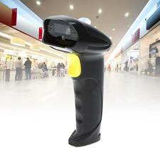 Automatic USB Laser Scan Barcode Scanner Bar Code Reader Black Handheld Stand MT