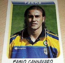 FIGURINA CALCIATORI PANINI 2000 PARMA CANNAVARO ALBUM