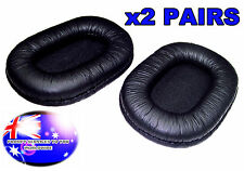 FROM OZ 2 PAIRS HEADPHONE FOAM CUSHION PADDING PAD EARMUFFS SONY MDR-7506 MDR-V6