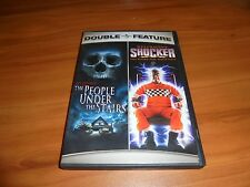 The People Under the Stairs/Shocker (DVD, 2007, 2-Disc) Used Wes Craven