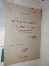 CORSO DI MUSICA E CANTO CORALE Stefano Diddi Stabilimento Mignani 1950 Vol 2 di