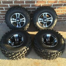 4 NEW SUZUKI LTZ250 LTZ400 450R MACHINE ITP SS112 Rims & Slasher Tires Wheel kit