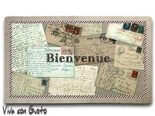 Fußmatte Vintage Post 73,5x44 NEU Clayre & Eef Shabby Türmatte