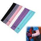1 Pair Cooling Bike Arm Sleeves Cover UV Sun Protection Basketball Sport Stretch