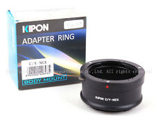 Kipon Adapter Contax Yashica C/Y Lens to Sony E Mount NEX A7 A7R A6000 A7S