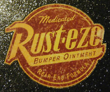 RUST EZE DISTRESSED VINYL STICKER DECAL HOT ROD JDM BOMBING EURO FREE POSTAGE!