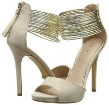 LIPSY @ KURT GEIGER SIZE UK 6 / EU 39 AVA NUDE / GOLD HIGH HEEL SHOE NEW IN BOX