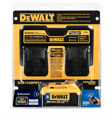 New DEWALT 20-Volt Max Power Kit Tool Battery Charger Pack Li-Ion