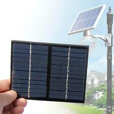 12V DIY Solar Panel Powered Module System Toy F Battery Cell Phone Charger 1.5W