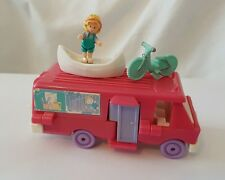 Vintage Polly Pocket Home On The Go Set 100%Complete  1994 excellent condition