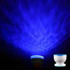 Led Night Light Projector Ocean Daren Waves Projector Lamp With Speaker F5