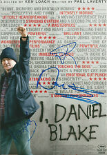Dave Johns/Hayley Squires/Paul Laverty Signed I Daniel Blake 12x8 Photo AFTAL